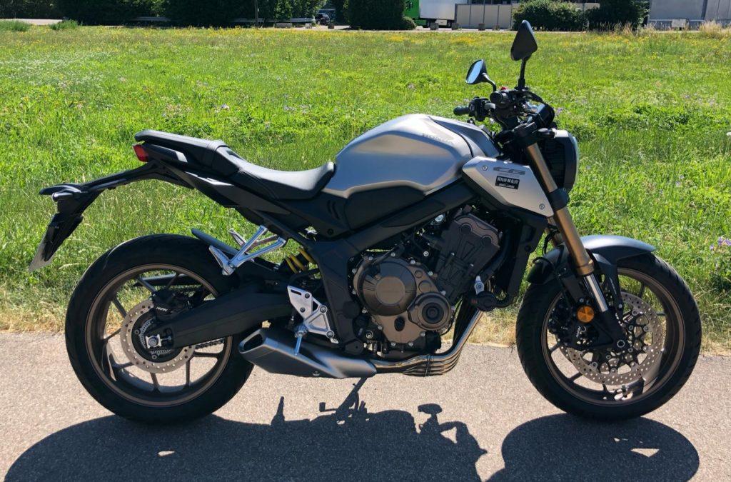 Klasse A Honda CB 650 R